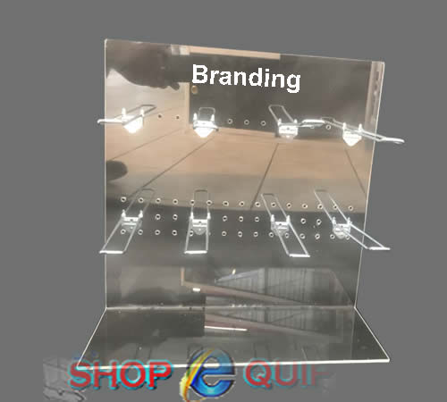 Perspex Counter Stand Single Sided